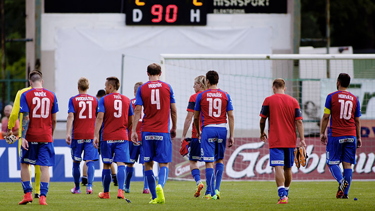 Viktoria entered the league with a draw 2:2 in Příbram