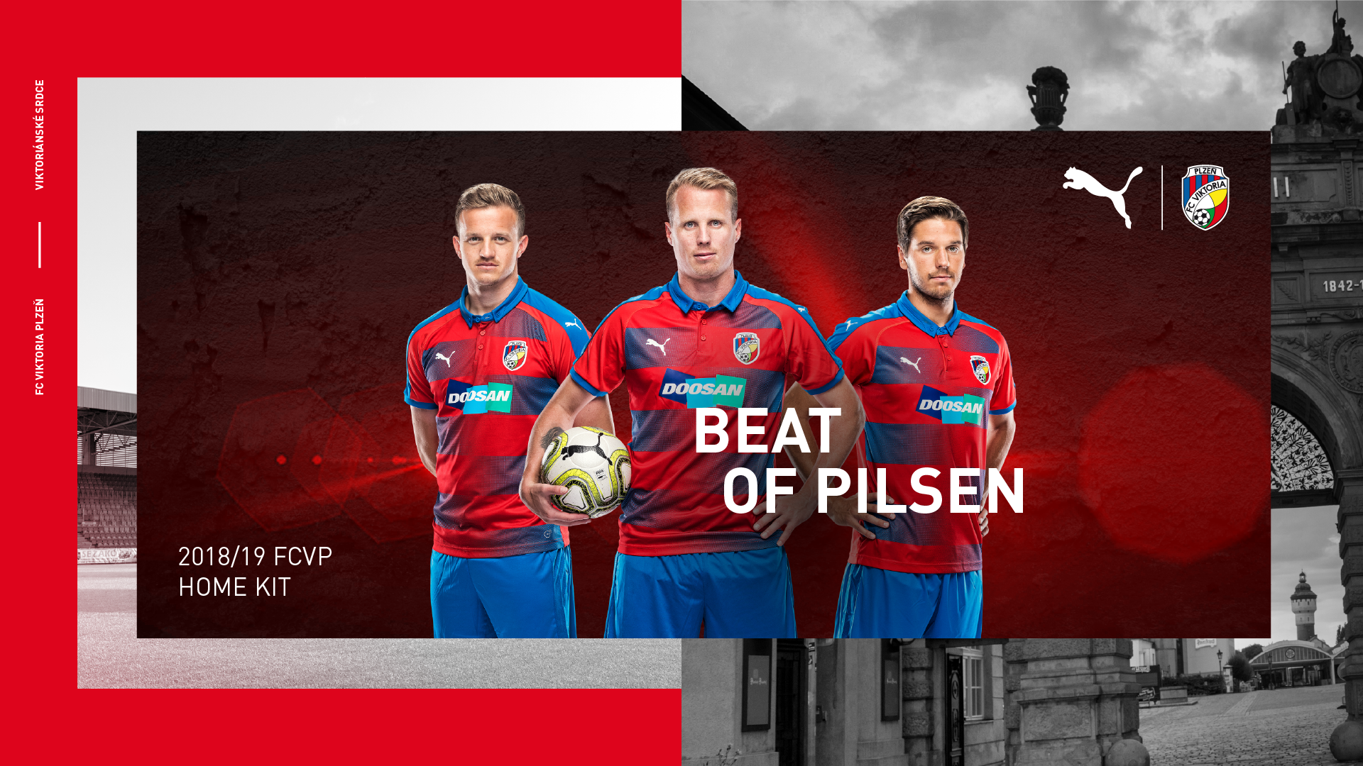Elegance, tradition, functionality! Viktoria introduces new home kit for 2018/2019