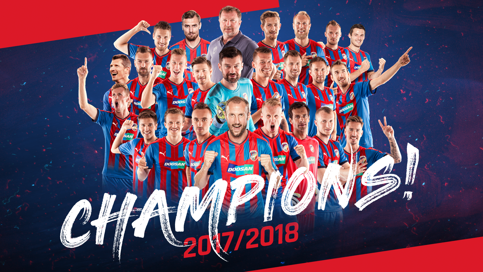 Champions! Viktoria beat Teplice and became the Czech champion for the 5th time!