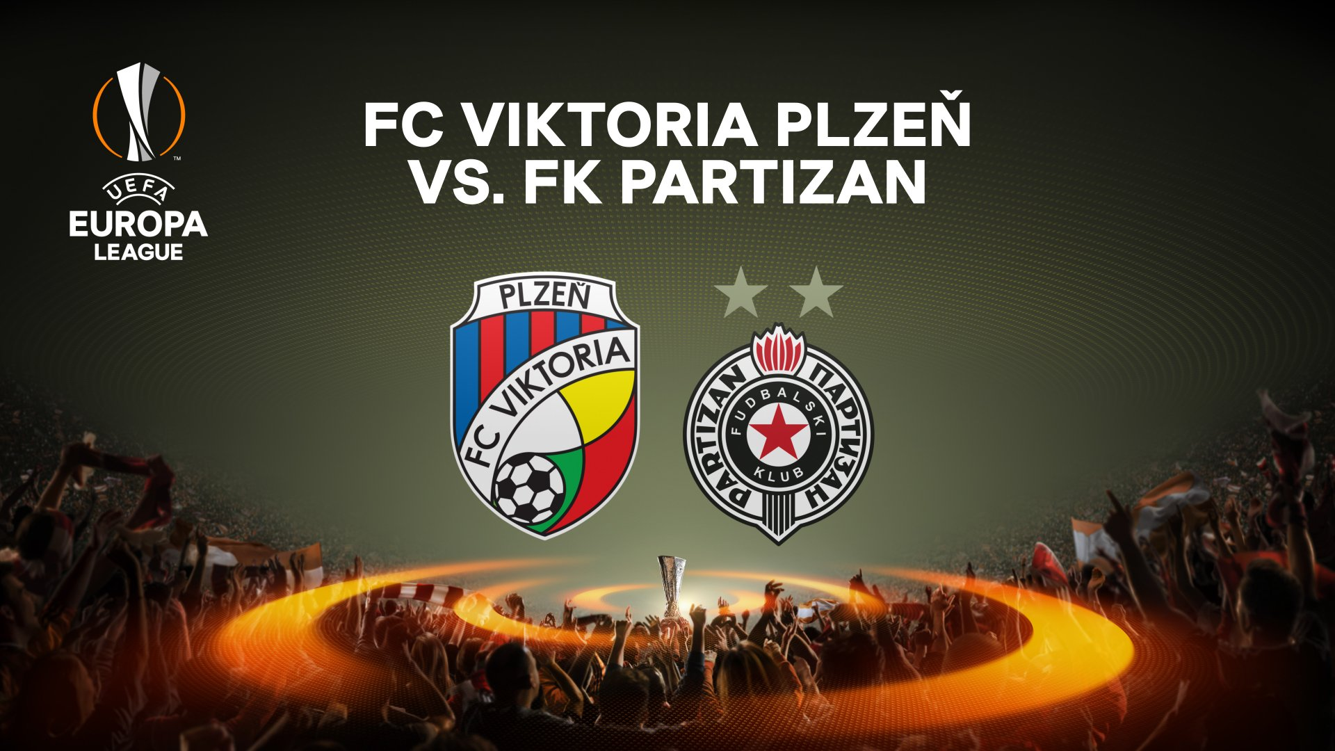 Viktoria Plzeň are awaiting a match against  Partizan Belgrade
