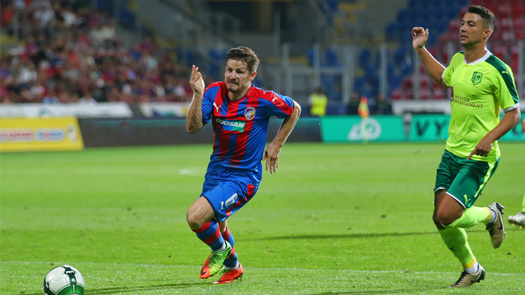The conceded goal boosted Plzeň and they finally won over Larnaca