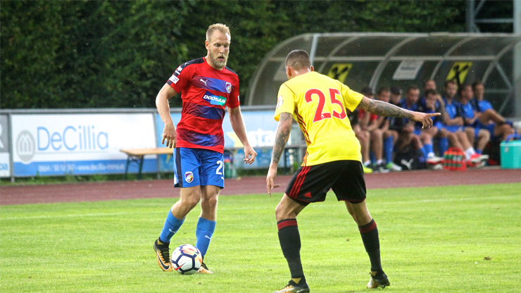 ​Viktoria finished their Austrian trainings and lost to Watford