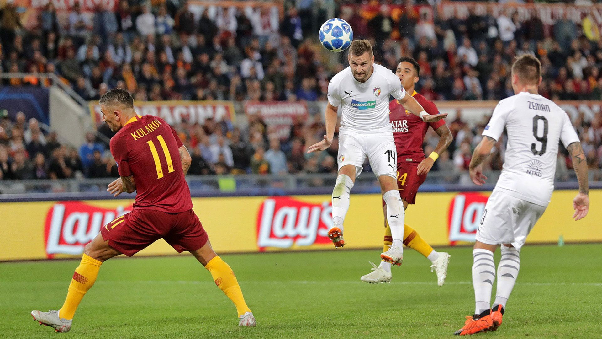 AS Roma were the better side on Tuesday night, Džeko scores hat-trick