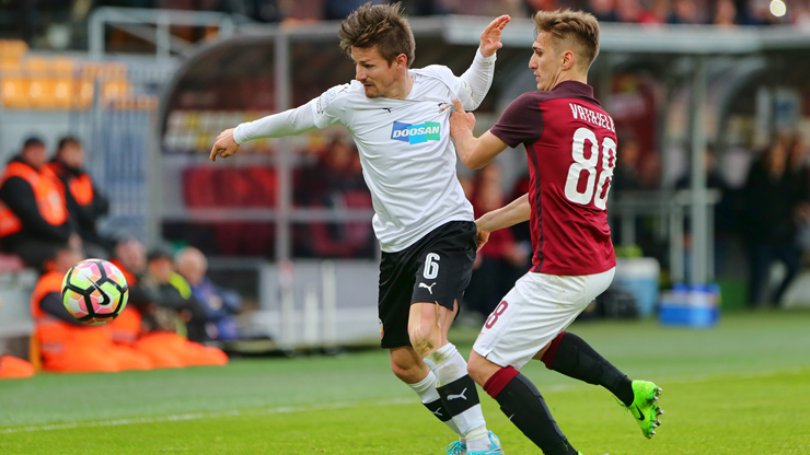 After a loss 2-0 Viktoria leave Sparta´s stadium without any point