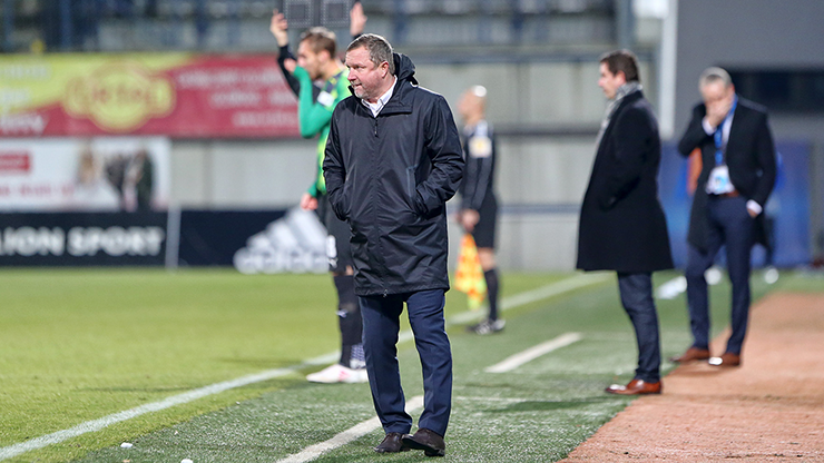 ​Our opponent punished us for our lazy start, Pavel Vrba realizes