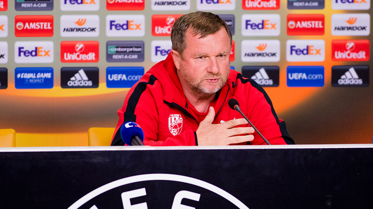 ​I believe we´ll redress today´s match, Pavel Vrba says
