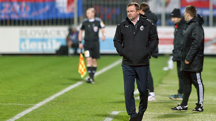 The victory over Slovácko is amazing, the coach Pavel Vrba is pleased